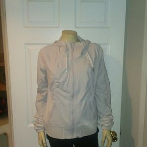Lululemon beige light coat size 10